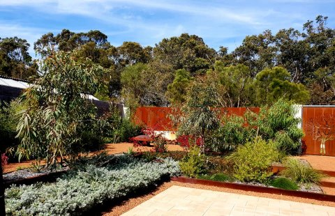 contemporary native garden