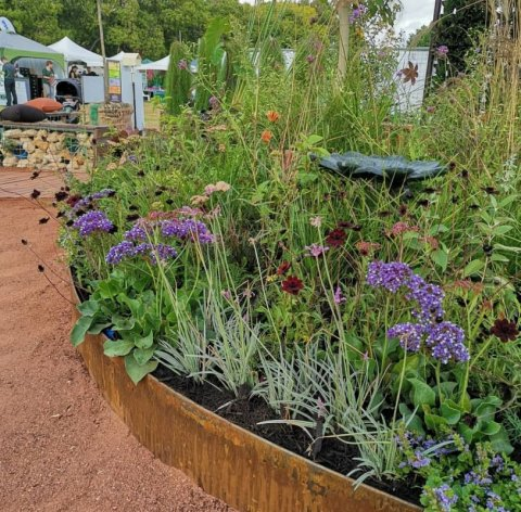 naturalistic perennial plantings at Perth Garden Festival 2019
