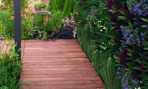 Our vertical garden at Perth Garden Festival